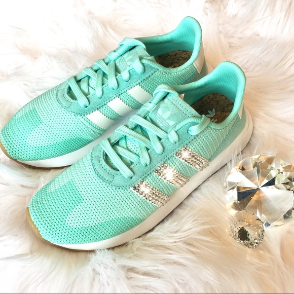 1fb6d814aa adidas Shoes | Bling Flb Runner W Swarovski Crystal | Poshmark